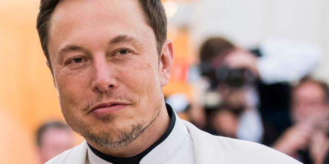 Elon Musk.  Charles Sykes / TT / NTB Scanpix