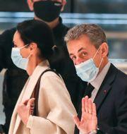 Nicolas Sarkozy. Michel Euler / TT NYHETSBYRÅN