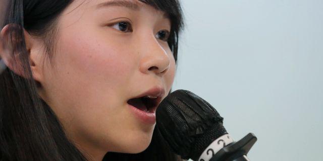Agnes Chow.  Kin Cheung / TT / NTB Scanpix