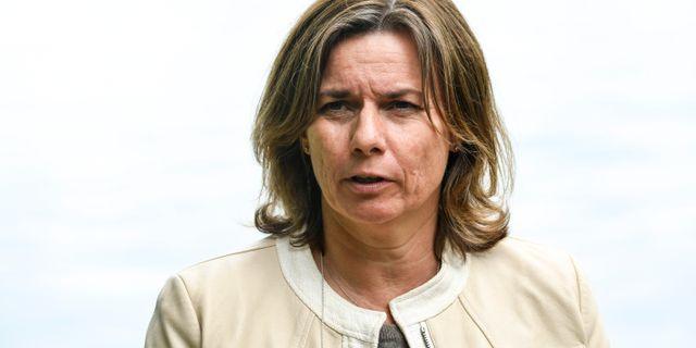 Isabella Lövin.  Johan Nilsson/TT / TT NYHETSBYRÅN