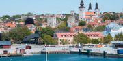 Visby hamn. Turisterna väntas strömma till Gotland i sommar efter regeringens besked. Fredrik Sandberg/TT / TT NYHETSBYRÅN