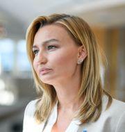 Ebba Busch. Arkivbild. Ali Lorestani/TT / TT NYHETSBYRÅN