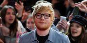 Ed Sheeran toppar de brittiska listorna. Markus Schreiber / TT NYHETSBYRÅN