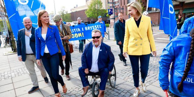Kristdemokraterna. Arkivbild. Per Groth/TT / TT NYHETSBYRÅN