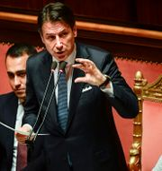 Giuseppe Contes. FILIPPO MONTEFORTE / AFP