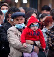 Uigurer i Xinjiang. Arkivbild. Mark Schiefelbein / TT NYHETSBYRÅN