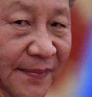 Arkivbild: Kinas president Xi Jinping.  NOEL CELIS / AFP