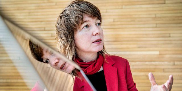 Malin Björk (V). Tomas Oneborg/SvD/TT / TT NYHETSBYRÅN
