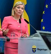Finansminister Magdalena Andersson.  Henrik Montgomery/TT / TT NYHETSBYRÅN