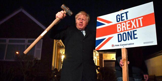 Storbritanniens premiärminister Boris Johnson. Ben Stansall / TT NYHETSBYRÅN