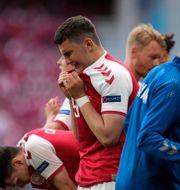 Flera spelare reagerade starkt. Martin Meissner / TT NYHETSBYRÅN