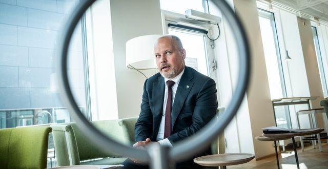 Morgan Johansson (S) Magnus Hjalmarson Neideman/SvD/TT / TT NYHETSBYRÅN