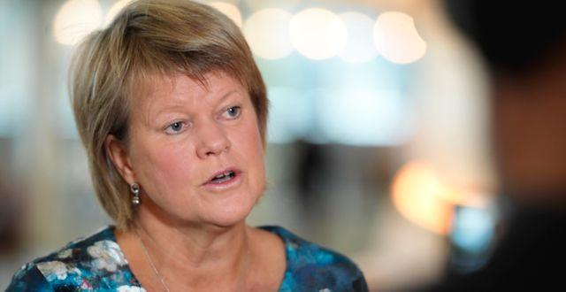Ulla Andersson. Amir Nabizadeh/TT / TT NYHETSBYRÅN