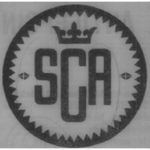 Svenska cellulosa aktiebolagets logga.  Bild från allabolag.se