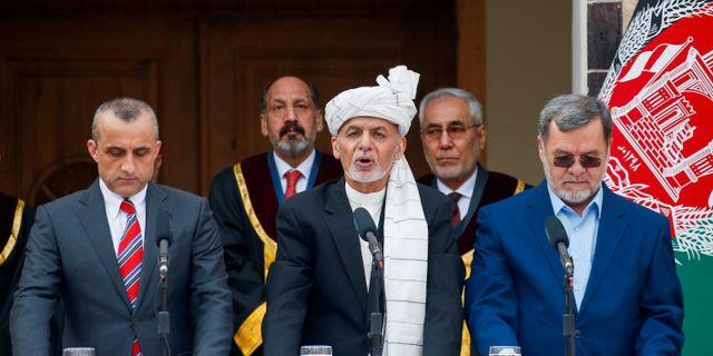 President Ashraf Ghani. Mohammad Ismail / TT NYHETSBYRÅN