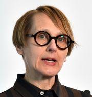Annika Sundén, analyschef på Arbetsförmedlingen.  Ali Lorestani/TT / TT NYHETSBYRÅN