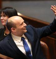 Naftali Bennett är ny premiärminister.  Ariel Schalit / TT NYHETSBYRÅN