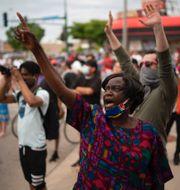 Minnesplats för George Floyd/Demonstranter i Minneapolis TT