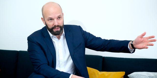 Mattias Dahl, vice vd för Svenskt Näringsliv. SÖREN ANDERSSON