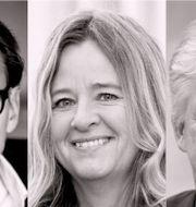 Per-Arne Sandegren, Claudia Wörmann, Tor Borg