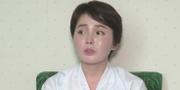 Skärmdump från den nordkoreanska videon.