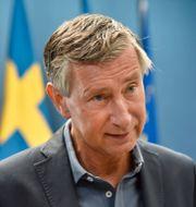 Richard Bergström, vaccinsamordnare. Fredrik Sandberg/TT / TT NYHETSBYRÅN