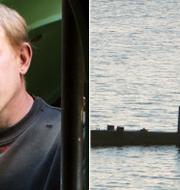 "Peter Madsen, arkivbild från 2008 / Madsens ubåt ""UC3 Nautilus"" Niels Hougaard / TT NYHETSBYRÅN/ NTB Scanpix samt PETER THOMPSON / AFP"