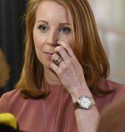 C:s partiledare Annie Lööf. Henrik Montgomery/TT / TT NYHETSBYRÅN