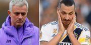 José Mourinho/Zlatan Ibrahimovic. Bildbyrån