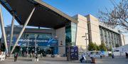 Exteriör på EXPO Tel Aviv där Eurovision 2019 hålls Henrik Montgomery/TT / TT NYHETSBYRÅN