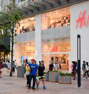 H&M i Peking. Maja Suslin/TT / TT NYHETSBYRÅN