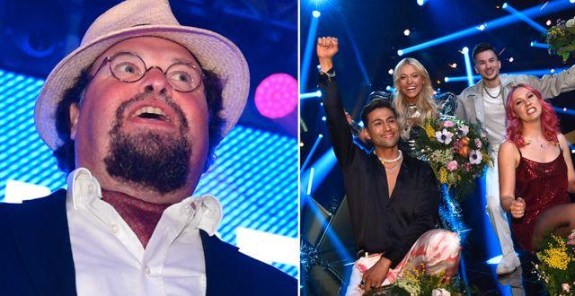 Blom, Estrella, Hammarström, Rey och Klingenström. TT