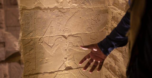 Saqqara. Illustrationsbild Maya Alleruzzo / TT NYHETSBYRÅN