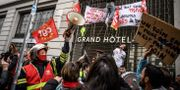 Franska demontrationer. JEAN-PHILIPPE KSIAZEK / AFP