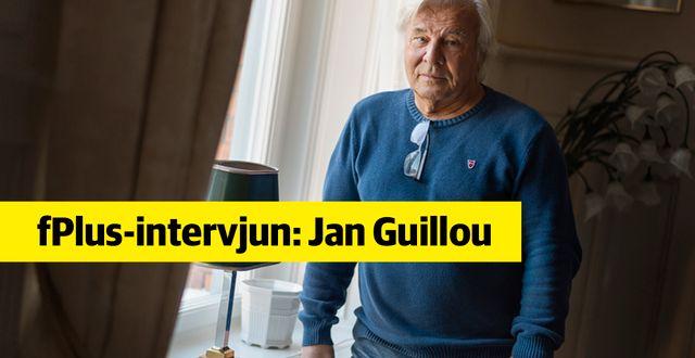 Jan Guillou tar fajten mot Skatteverket. Henrik Montgomery/TT / TT NYHETSBYRÅN