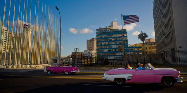 Arkivbild: Amerikanska ambassaden i Kuba Ramon Espinosa / TT / NTB Scanpix
