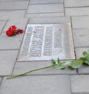 Platsen där Olof Palme mördades.  Fredrik Sandberg/TT / TT NYHETSBYRÅN