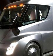 Teslas batterilastbil Semi. Illustrationsbild. Reuters  Staff / TT NYHETSBYRÅN