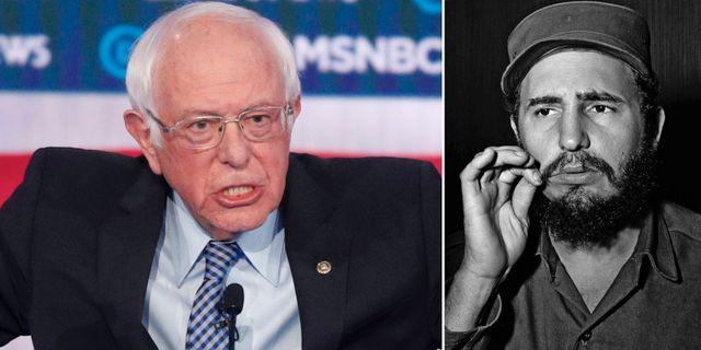 Bernie Sanders/Fidel Castro. TT