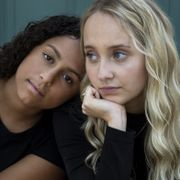 Destinee Ramos, left, and Isabel Yoblonski said the obsessive use of Instagram had potential health drawbacks. The Wall Street Journal, PHOTO:LIANNE MILTON FOR THE WALL STREET JOURNAL