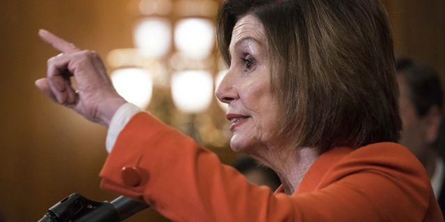 Representanthusets talman Nancy Pelosi. Sarah Silbiger / GETTY IMAGES NORTH AMERICA