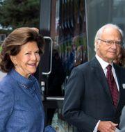 Drottning Silvia och kung Carl Gustaf Claudio Bresciani / TT / TT NYHETSBYRÅN