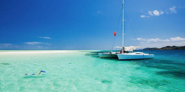 Cayo Largo är helt inramad av korallrev med hisnande snorkling och dykning. Wikicommons