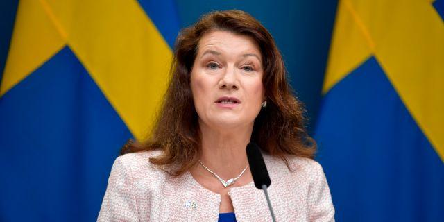 Ann Linde (S). Anders Wiklund/TT / TT NYHETSBYRÅN