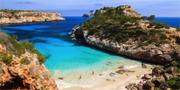 Calo des Moro på Mallorcas sydostkust. Marcalma Hotel