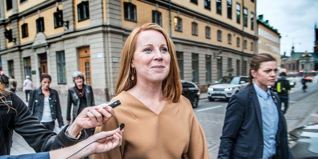 Annie Lööf. Tomas Oneborg/SvD/TT / TT NYHETSBYRÅN