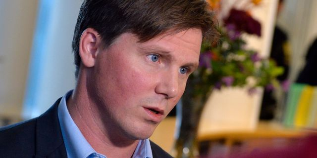 Erik Ullenhag.  Vilhelm Stokstad / TT / TT NYHETSBYRÅN