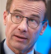 Stefan Löfven (S)/Ulf Kristersson (M). TT