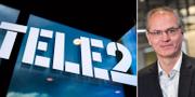 Anders Nilsson slutar som vd på Tele2. Jonas Ekströmer/TT / TT NYHETSBYRÅN