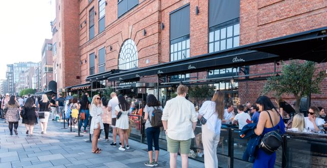 Restaurang i Oslo.  Terje Pedersen / TT NYHETSBYRÅN